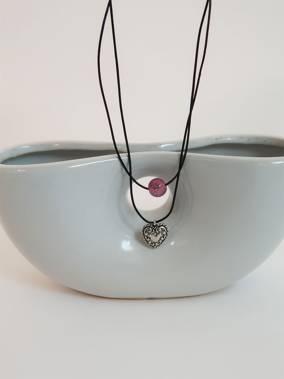 ciols made)heart pendant necklace (3차 재입고)