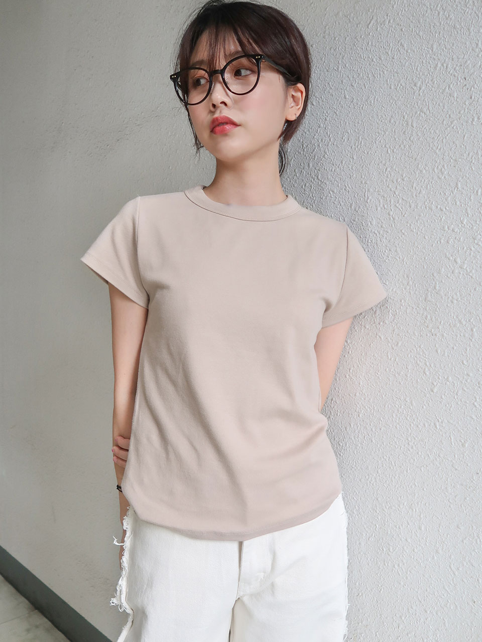 모델소장♡ tension half t-shirt(4color)